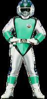 Green Sonic Ranger (Female)