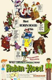 Ash Ketchum meets Robin Hood poster