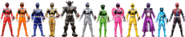 Nine Force Rangers