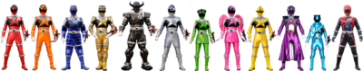 Nine Force Rangers