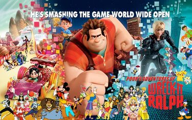 Pooh's Adventures of Wreck-it Ralph Poster-0