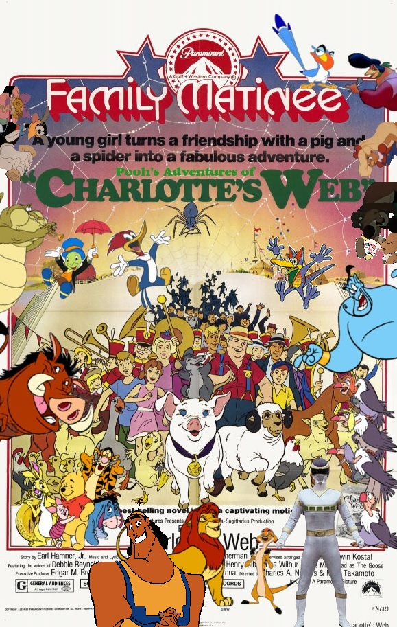 Pooh's Adventures of Charlotte's Web Poster