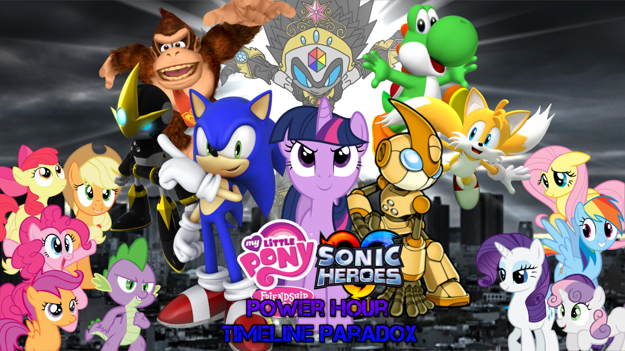 My Little Pony Sonic Heroes Power Hour Timeline Paradox