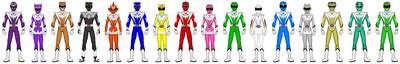 Mythic Rainbow Rangers