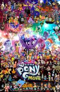 Pooh's Adventures of My Little Pony the Movie (2017) poster (Fixed)