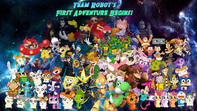 Team Robot's First Adventure Begins Poster 3