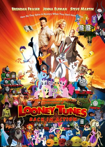 File:Thomas and Twilight Sparkle's Adventures of Looney Tunes Back in Action Poster.jpg