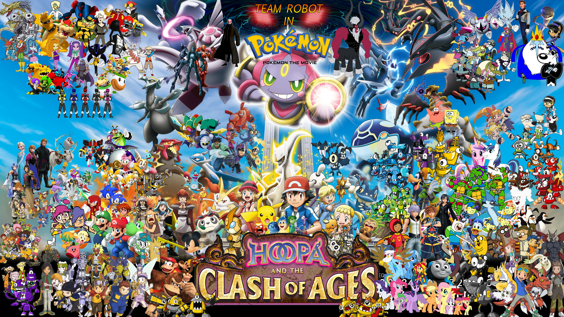 Team Robot In Pokemon The Movie Hoopa And The Clash Of Ages