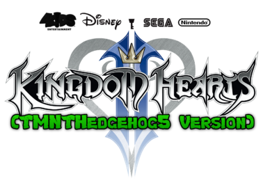 Kingdom Hearts II Logo (TMNTHedgehog5 Version)