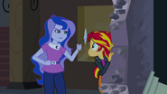 Sunset Shimmer's Defeat, Redemption and Punishment