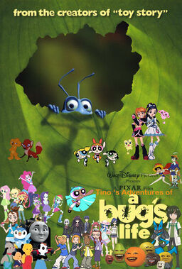 Tino's Adventures of A Bug's Life