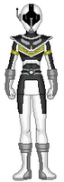 9. White Data Squad Ranger