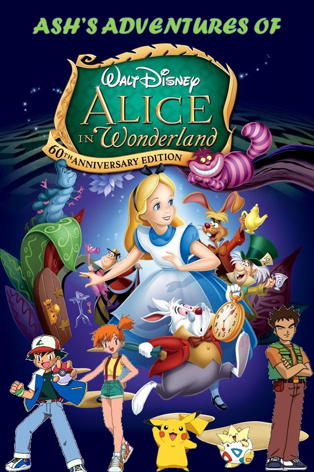 Ash's Adventures of Alice in Wonderland Poster