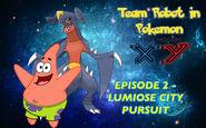 Episode 2 - Lumiose City Pursuit Poster