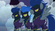 Nightmare Moon disguised as the Shadowbolts