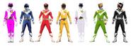 Seven Solar Force Rangers