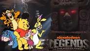 Pooh's Adventures of Legends of the Hidden Temple Pooh character poster