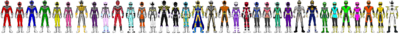 Data Squad Rangers (All Together 11)