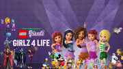 Pooh's Adventures of LEGO Friends - Girlz 4 Life Poster