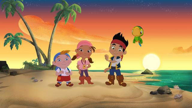 File:The Never Land Pirates (Jake, Izzy, Cubby and Skully).jpg