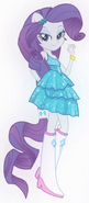 Rarity's half-pony form