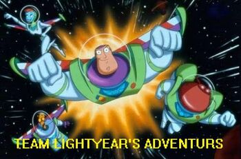 Team Lightyear's Adventures logo