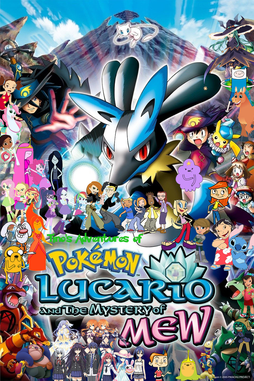 Tino S Adventures Of Pokemon Lucario And The Mystery Of Mew