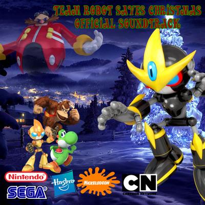 Team Robot Saves Christmas CD Album