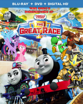 Team Robot's Misadventures Of Thomas & Friends - The Great Race Poster