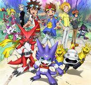 Digimon Xros Wars 3 poster