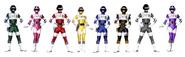 Eight Bio Rangers