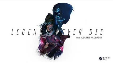 Legends Never Die (ft. Against The Current) -OFFICIAL AUDIO- - Worlds 2017 - League of Legends