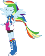 Rainbow Dash Ponied Up