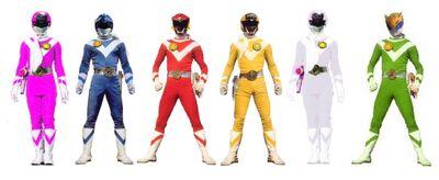 Six sun rangers