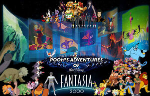 Pooh's Adventures of Fantasia 2000 Poster