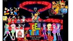 Pooh's Adventures of Teen Titans The End (Full Movie) Poster