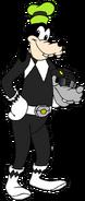 Goofy as a Power Ranger