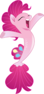 Pinkie Pie as a Seapony