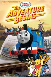 Pooh's Adventures of Thomas and Friends - The Adventure Begins Poster