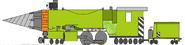 Steam Driller (his gun deployed)
