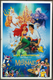 Ash's Adventures of The Little Mermaid Poster