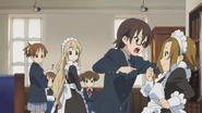 Nodoka angry at Ritsu