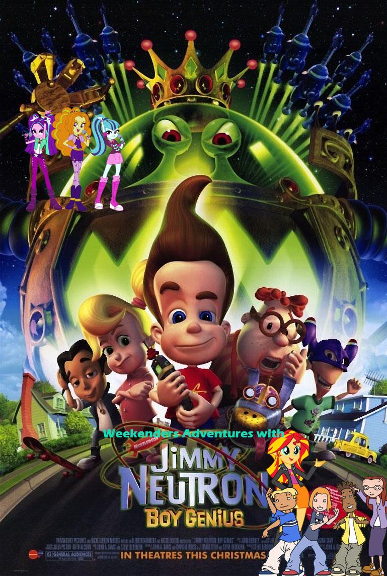 Game boy color pooh wiki - Weekenders Adventures With Jimmy Neutron Boy Genius Jpg