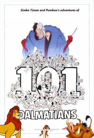 Simba, Timon, and Pumbaa's Adventures of 101 Dalmatians (1961