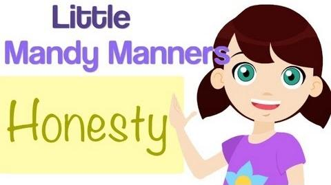 Honesty Is True Little Mandy Manners TinyGrads Children's Videos Character Songs