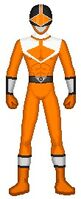 Time Force Orange Ranger