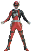 S.P.D. Red Ranger S.W.A.T. Mode