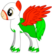 El Chupacabra's Pony Form