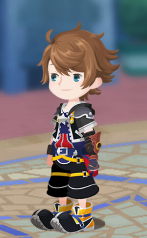 Ryan in his Sora outfit
