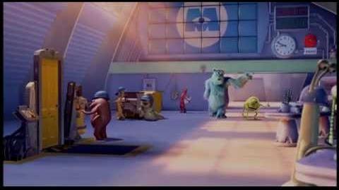 Monsters, Inc Trailer. (2001) Trailer